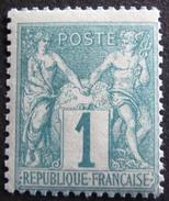 Lot R1597/95 - SAGE Type I N°61 NEUF** - 1876-1878 Sage (Type I)