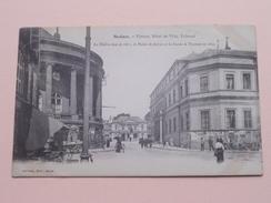 Théâtre, Hôtel De Ville, Tribunal ( Sauvage ) Anno 19?? ( Voir Photo ) ! - Sedan