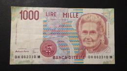 Italy -  1000 Lire - 1998 - P-114c.4 - VF - [ 2] 1946-… : Républic