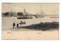 Boom   Le Rupel 1904 - Boom