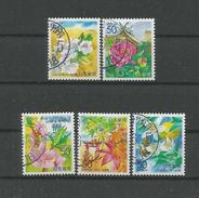 Japan 2000 Flowers Of Chigoku  Y.T. 2819/2823 (0) - Used Stamps