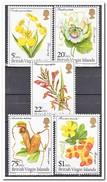 Britse Maagdeneilanden 1981, Postfris MNH, Flowers - Britse Maagdeneilanden