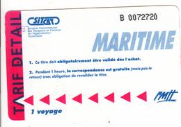 Ticket MARITIME - Boat