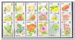 Britse Maagdeneilanden 1991, Postfris MNH, Flowers - Britse Maagdeneilanden