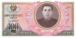 KHOREA NORTH 100 WON 1978 PICK 22a UNC - Korea, North