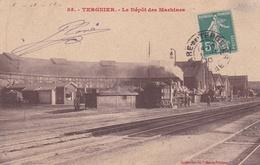 CPA  De  TERGNIER  (02)  -  Le  Dépôt  Des Machines   //    TBE - France