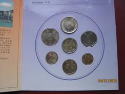 Hong Kong 1993 UNC 7 Coin Collection Set 10 Cents - $10 Dollars In Info Folder - Hong Kong