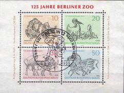 Germany / Berlin Used SS - Stamps
