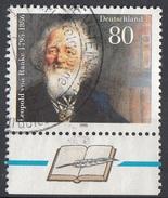 Germania 1995 Sc. 1909 Leopold Von Ranke : Storico - Viaggiato Used Germany - Non Classificati