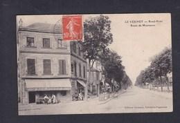 Le Vesinet (78) Rond Point -  Route De Montesson  ( Animée Café Bar Biere Gruber Ed. Cormery ) - Le Vésinet