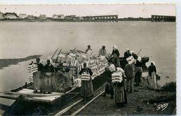 56 - LA TRINITE SUR MER - Le Débarquement Des Tuiles Destinées à L'Ostréiculture. - La Trinite Sur Mer