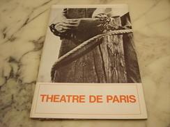 THEATRE DE PARIS PROCES DE JEANNE D ARC DEDICACE - Programmes