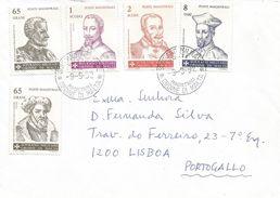 SMOM 1992 Grandmasters Embassy Cover To Portugal - Malte (Ordre De)
