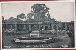 Argentina Argentine Buenos Aires Jardines De Palermo Rosedal  Argentinie - Argentine