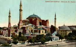 CONSTANTINOPLE MOSQUEE ST  SOPHIE - Turquia