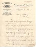 Lettre  Commerciale Ancienne /Installation Et Transformation De Moulins/DAVERIO HENRICI & Cie/Marseille/1912   FACT316 - France