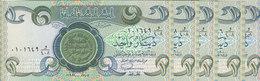 IRAQ 1 DINAR 1984 P-69 UNC LOT X 5 UNC NOTES */* - Iraq