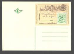 Postwaardestuk / Entier Postal - Image D'une Carte De Liège Guillemins / Luik - 2,50 F - Entiers Postaux