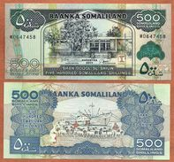 Somaliland, 2011, UNC, 500 Shillings, Banknote, Paper Money Bill, P-6h - Somalia