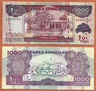 Somaliland, 2012, UNC, 1000 Shillings, Banknote, Paper Money Bill, P-20 - Somalia