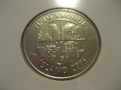 5 Kr 2005 Dophins ICELAND Islande Good Condition Coin - Iceland