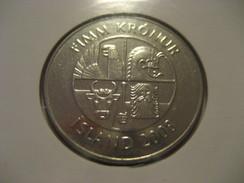 5 Kr 2008 Dophins ICELAND Islande Good Condition Coin - Iceland