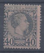 MONACO - N° 7 - Neuf - X - Trace De Charnière - Cote 125 €  B/TB - - Monaco