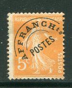 FRANCE- Préoblitéré Y&T N°50- Oblitéré - 1893-1947