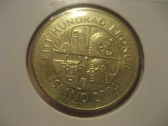 100 Kr 2004 Fish ICELAND Islande Coin - Iceland