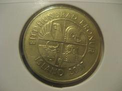 100 Kr 2007 Fish ICELAND Islande Coin - Iceland