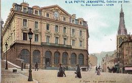 Carte Pub La Petite Jannette ;le Theatre Des Celestins - Lyon