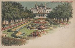 Monaco - Monte-Carlo - Précurseur - Editeur Sirven - Casino Et Jardins - Publicité Chocolat Ibled - Monte-Carlo