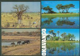 Botswana Okavango Mochudi Gaborone Africa Afrique Lot 27 Postcards Cartes Postales - Botswana