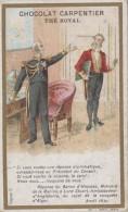 Chromos - Chocolat Carpentier Thé Royal - Histoire - Baron D'Haussez Ministre Marine - Conquête D'Alger - Avril 1830 - Cioccolato