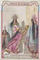 Chromos - Chocolat De La Marine - Fête - Pérou - Indiens Solstice De Juin - Soleil - Chicha - Carnaval - Cioccolato