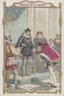 Chromos - Chocolat De La Marine - Jour Des Etrennes Du Jour De L'An - 1564 Charles IX - Cioccolato