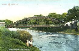 CUMBRIA - BEN RHYDDING - BRIDGE AND RIVER Cu1174 - Cumberland/ Westmorland