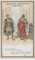 Chromos - Chocolat Carpentier Thé Royal - Histoire - Hugues Capet - 988 - Comte De Périgueux - Cioccolato