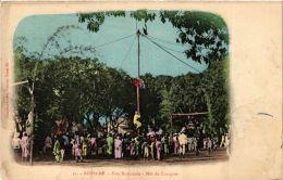 CPA Nossi-Bé. Féte Nationale. Mát De Cocagne. MADAGASCAR (626047) - Madagascar