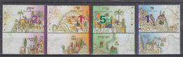 ISRAEL 1998 JERUSALEM HEBRON TIBERIAS ZEFAT - Israel
