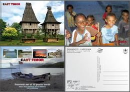 Timor East Timor Timur Timor Lorosae Lot 10 Postcards Cartes Postales Cartao Postais Asia - Dili - Timor Oriental