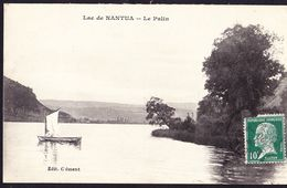 CPA - NANTUA (01 - AIN) - LAC DE NANTUA, LA PALIN - Nantua