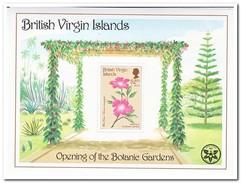 Britse Maagdeneilanden 1987, Postfris MNH, Flowers - Britse Maagdeneilanden