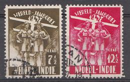 Indes Néerlandaises 1937 Nvph Nr. 226-227 Wereldjamboree Nederland  Oblitérés /Used / Gestempeld - Niederländisch-Indien
