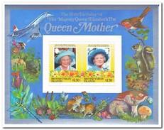 Britse Maagdeneilanden 1985, Postfris MNH, Flowers, Queen Elisabeth - Britse Maagdeneilanden
