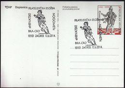 Croatia Zagreb 2014 / Soccer Football / World Championship Brazil 2014 / Ph. Ex. Croatian Football / Brasil - Croatia - Coppa Del Mondo