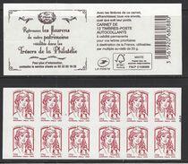 Carnet Marianne De Ciappa Trésors De La Philatélie . LP 20g - Carnets