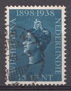 Indes Néerlandaises 1938 Nvph Nr. 237 Koningin Wilhelmina  Oblitérés /Used / Gestempeld - Niederländisch-Indien