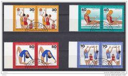 Duitsland 1976 Nr 731/735 G Duo, Mooi Lot Krt 3832 - [7] République Fédérale