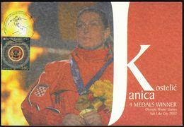 Croatia Zagreb 2002 / Olympic Games Salt Lake City 2002 / Great Day Of Croatian Sport / Janica Kostelic / Alpine Skiing - Winter 2002: Salt Lake City